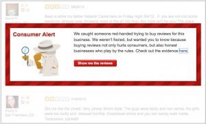 Yelp Consumer Alert