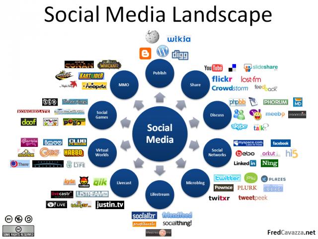 Social media landschap