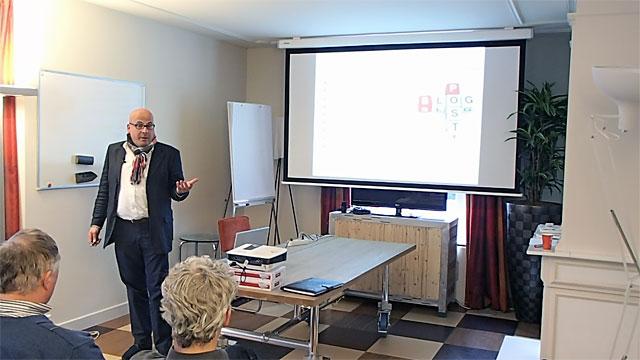 Presentatie over reputatie en imago bij Ordina in Apeldoorn