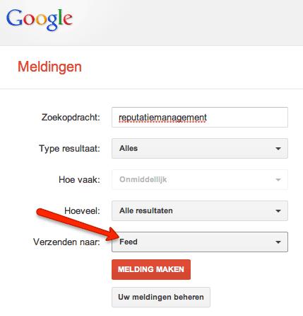Google RSS Alerts