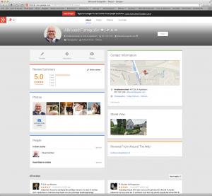 Google+ met 2 kolommen