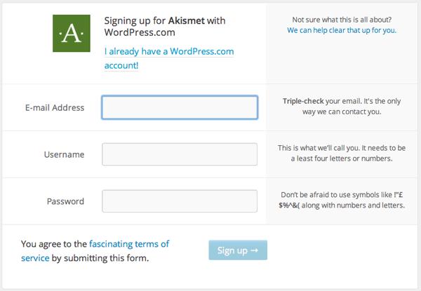 Akistmet Signup