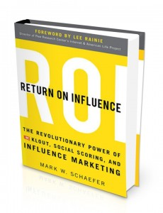 Return of Influence (Mark Schaefer)
