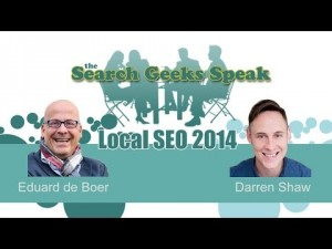 "Video thumbnail for youtube video A.s. donderdag 17-04 te gast in ""Search Geeks Speak; Local SEO"" - ReputatieCoaching"