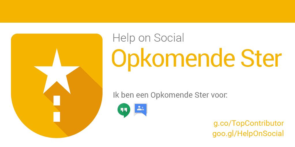 Google Help on Social
