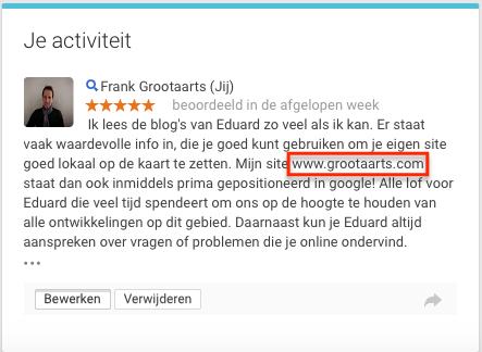 Review met URL
