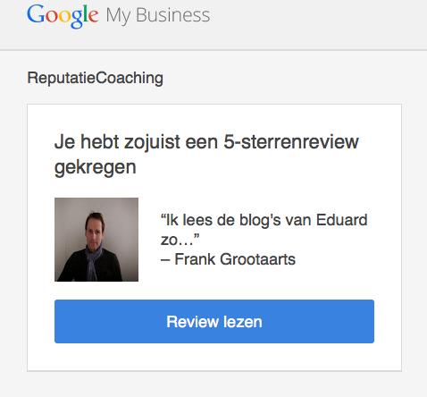 Mailtje review Frank Grootaarts