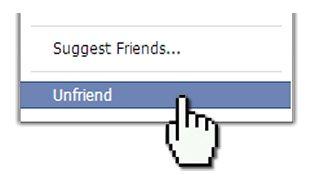 #Unfriend