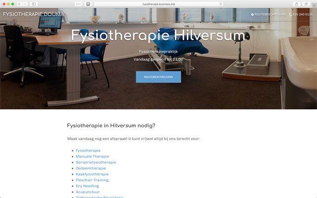 Website op Google Mijn Bedrijf